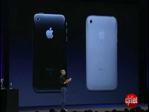 Video: WWDC 2008 News: iPhone 3G makes its debut