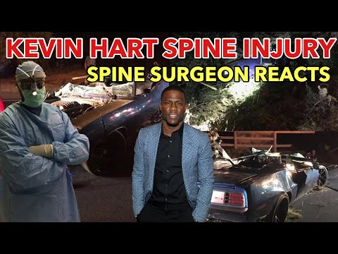 Spine Surgeon Reacts to Kevin Hart's Spine Injury and Surgery