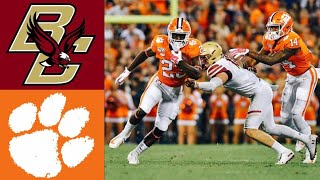 Boston College vs #4 Clemson Highlights | NCAAF Week 9 | College Football Highlights