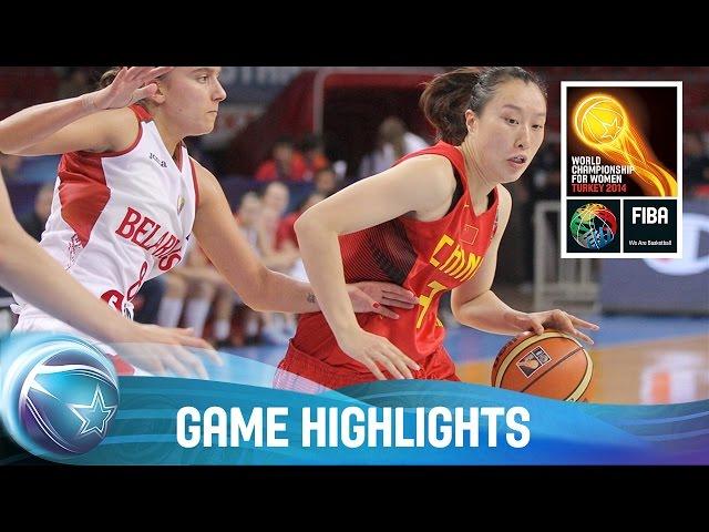 Belarus v China - 1/4-Final Qualification Game - 2014 FIBA World Championship for Women