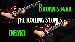 "how to play ""Brown Sugar"" on guitar by the Rolling Stones 
