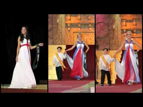 MISS EARTH 2009 NATIONAL COSTUME PRESENTATION PART 1