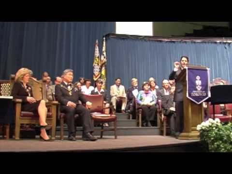 University of Toronto Medical School Class of 2010 Valedictorian Speech - Part 1/2 - Ali Okhowat
