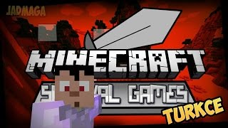 MINECRAFT - SEZER ile SURVIVAL GAMES