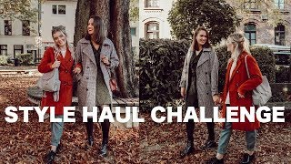 STYLE HAUL CHALLENGE | Herbst Outfit Inspiration