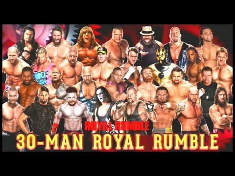 Wwe 2k15 | Royal Rumble (30 Man) video
