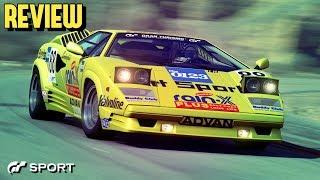 GT SPORT - Lamborghini Countach 25th Anniversary REVIEW
