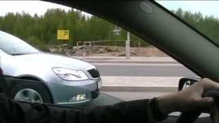 Тест-драйв Skoda Octavia с коробкой DSG