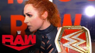 Becky Lynch has a score to settle with Asuka: WWE Exclusive, Oct. 28, 2019