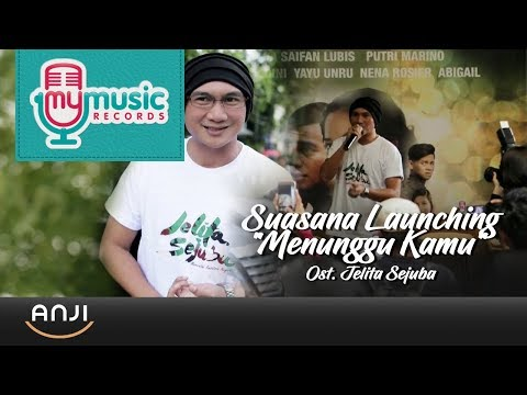"Download Lagu  ANJI - Suasana Launching ""Menunggu Kamu"" Ost. Jelita Sejuba Mp3 Free"