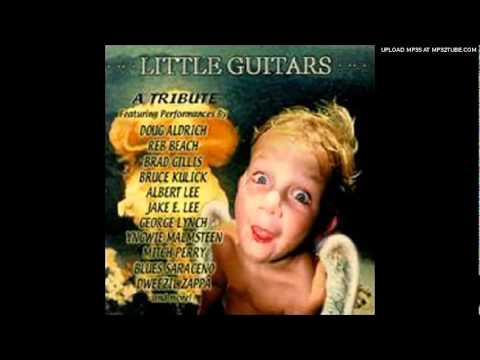 Bruce Kulick - Hot For Teacher - Cover Song from Little Guitars - A Tribute