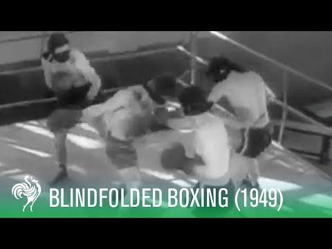 Boxeadores con los ojos vendados - Nuevo deport en Roma en los 1940s
