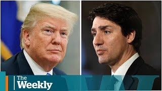 Donald Trump picks a fight with Justin Trudeau