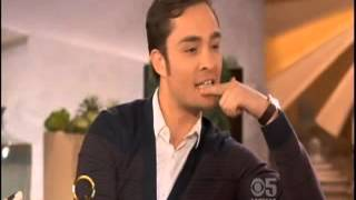 Ed Westwick on Queen Latifah   10-15-13