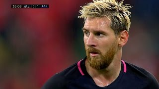 Lionel Messi vs Athletic Bilbao (Away) 16-17 HD 1080i - English Commentary