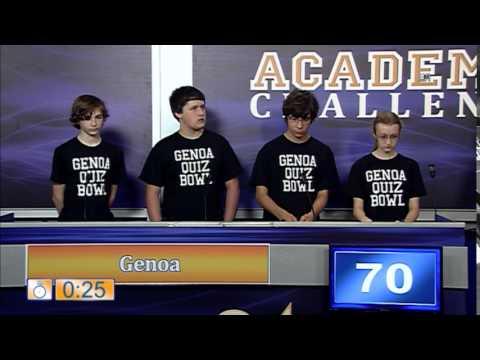 Academic Challenge 2015 - Ep. 1 Genoa v. Patrick Henry