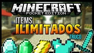 ¡TRUCO PARA MINECRAFT PE 0.17.0 - ITEMS INFINITOS DIAMANTE,ORO,HIERRO! [Android Fast]