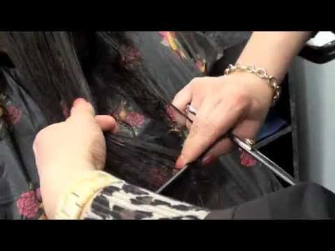 Cutting Long layers for Curly Hair