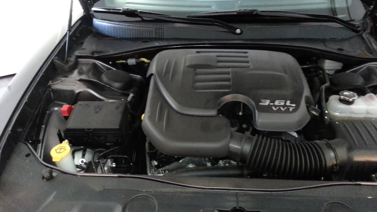 2014 Dodge Charger Sedan Pentastar 3 6l V6 Engine Idling