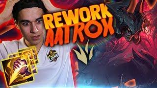 Probando el REWORK DE AATROX en la JUNGLA!! Ahora SE PARECE a RIVEN?!