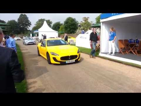 Gumball 3000 Drivers Entering Salon Privé 2014 Syon Park