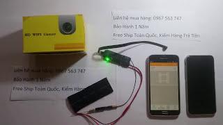 Camera wifi 4G siêu nhỏ đọc chữ từ xa giá 1400k cho khách may mắn   Bán Toàn Quốc 0967563747