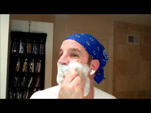 PARKER 99R SAFETY RAZOR: Learn How To Shave! Complete DE Shaving From A-Z. Brush, Cream, geofatboy