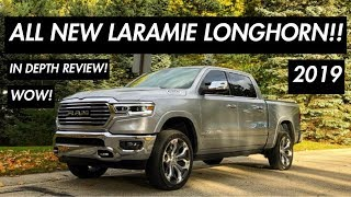 2019 RAM 1500 LARAMIE LONGHORN REVIEW! IS IT WORTH $72,000!?