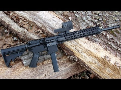 Shooting the CMMG MK-9 T 9x19mm Semi-Automatic Carbine - Gunblast.com