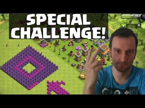SPECIAL CHALLENGE || CLASH OF CLANS || Let's Play COC [Android iOS] Ansicht Matthias