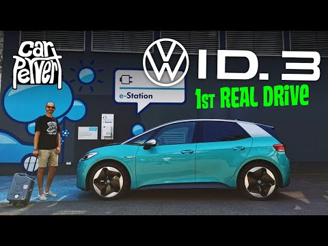 Driving VW's first all-new electric car - what is the Volkswagen ID.3 really like? // Jonny Smith