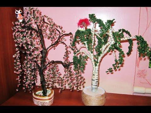 дерево из бисера фото мк