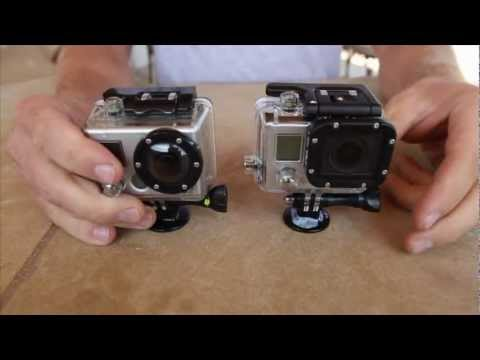GoPro Hero 3 / Hero 2 Comparison