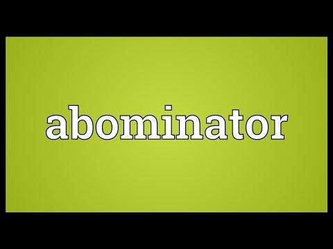 Header of Abominator