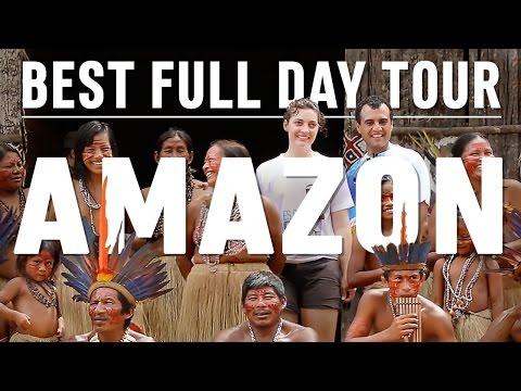 BEST FULL DAY TOUR - Manaus, Amazon