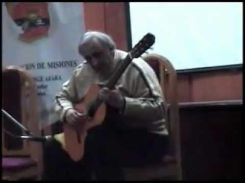Agustin Barrios - Oración de la tarde - César Amaro