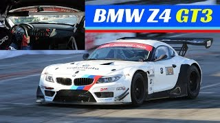 BMW Z4 GT3 Action, On-board & Pure V8 Sound! - Motor Show Bologna 2017