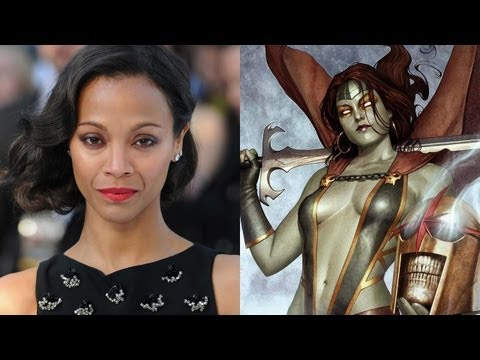 Zoe Saldana Talks 'Guardians of the Galaxy'