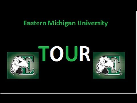 TOUR of the Eastern Michigan University Campus!