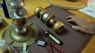 BEST knob I.C  type-removal without a key part 02