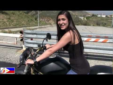 How To Ride A Motorcycle? Tutorial Video, Demonstrated By A Real Biker Chick