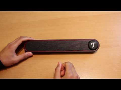 Mobiler Bluetooth Lautsprecher mit Bass - BT Bamster Review