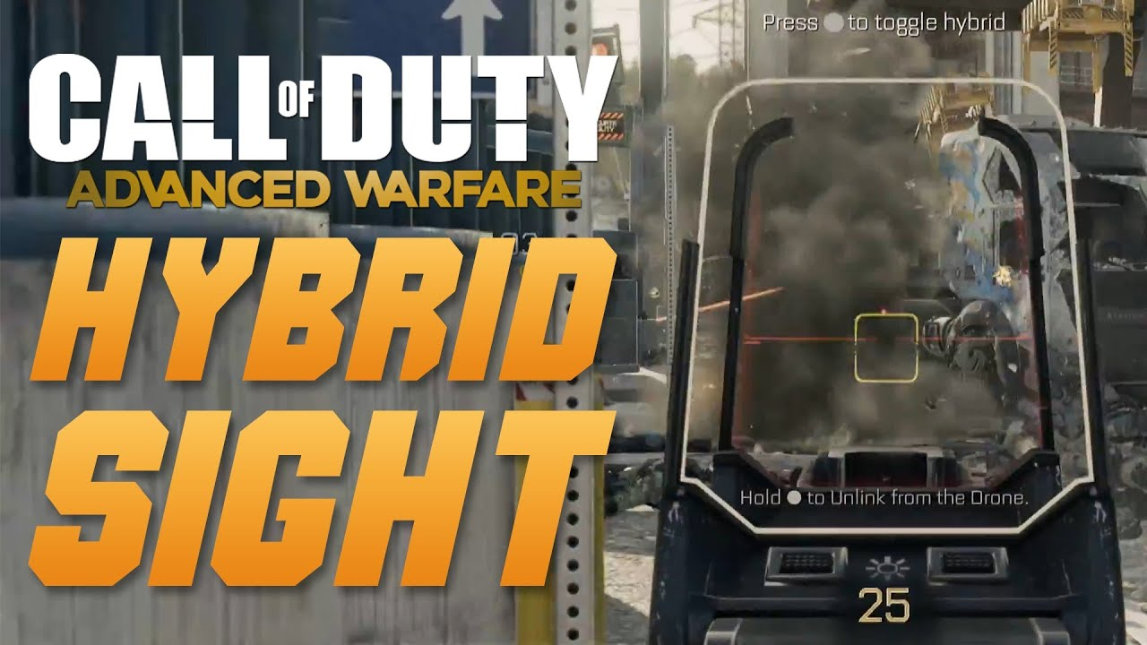 Call of Duty Advanced Warfare Hybrid Sight Call of Duty Advanced Warfare