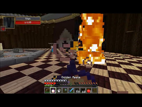 Minecraft: ENDER TITAN CHALLENGE GAMES - Lucky Block Mod - Modded Mini-Game
