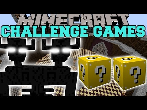 Minecraft: ENDER TITAN CHALLENGE GAMES — Lucky Block Mod — Modded Mini-Game