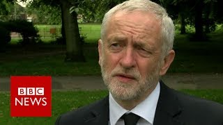 Manchester attack: Jeremy Corbyn on 'traumatic time' BBC News