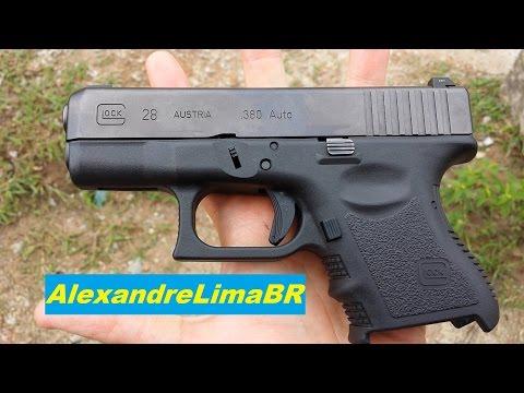 Glock VS Imbel - Super Compactas (apenas comparação visual)