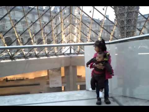 Riya & Arjun In Louvre video