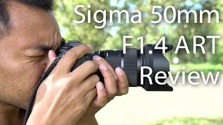 Sigma 50mm F1.4 ART Review on Sony A7RM2 | John Sison