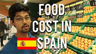 Food Prices in Spain- SUPERMARKETS IN SPAIN